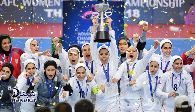 جام در دستان سارا شیربیگی,قهرمانی بانوان فوتسال ایران