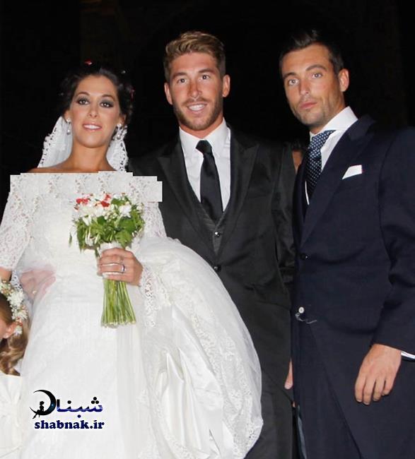 sergio ramos 1 - بیوگرافی سرخیو راموس و همسرش +تصاویر عروسی