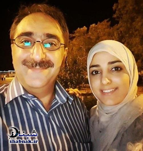 شهرام شکیبا و همسر ستاره سادات قطبی