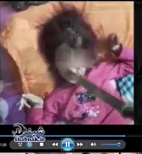 shekanje 5 - فیلم شکنجه دختر معلول و قمه زدن پدر به دخترش در کرج