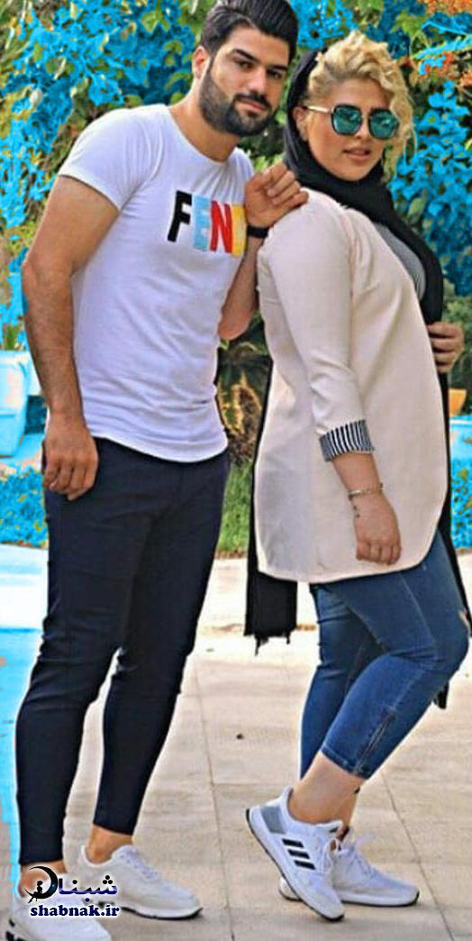 فرشاد محمدی مهر و همسرش