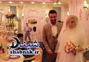 عکس همسر حنیف عمران زاده در مراسم ازوادج