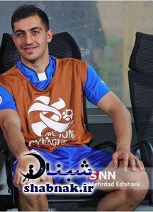 عکس مجید حسینی بازیکن استقلال