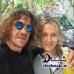 عکس کارلس پویول و همسرش