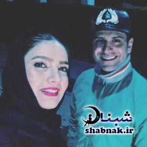 بیوگرافی روزبه حصاری و همسرش