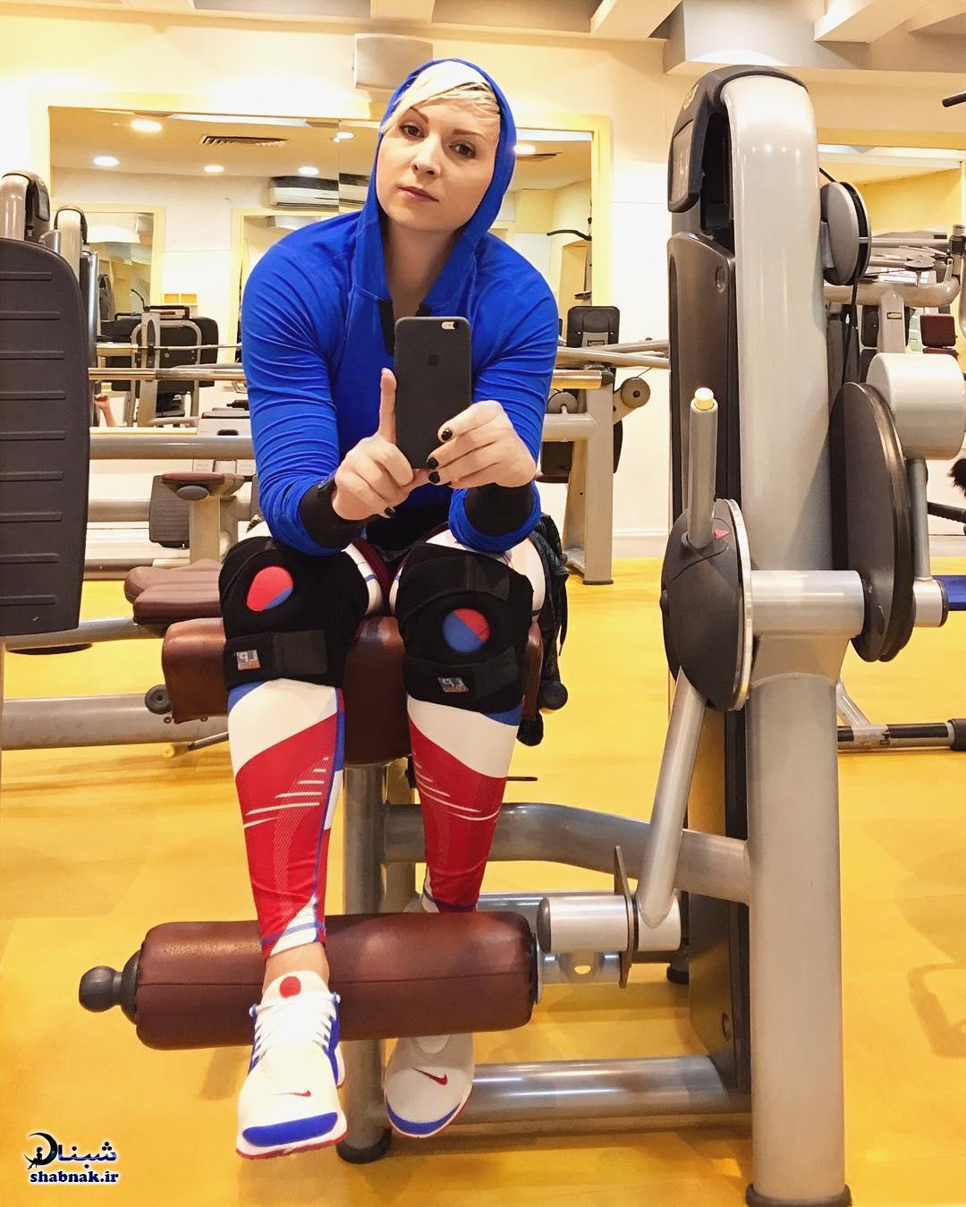 عکس لیلا رجبی ورزشکار
