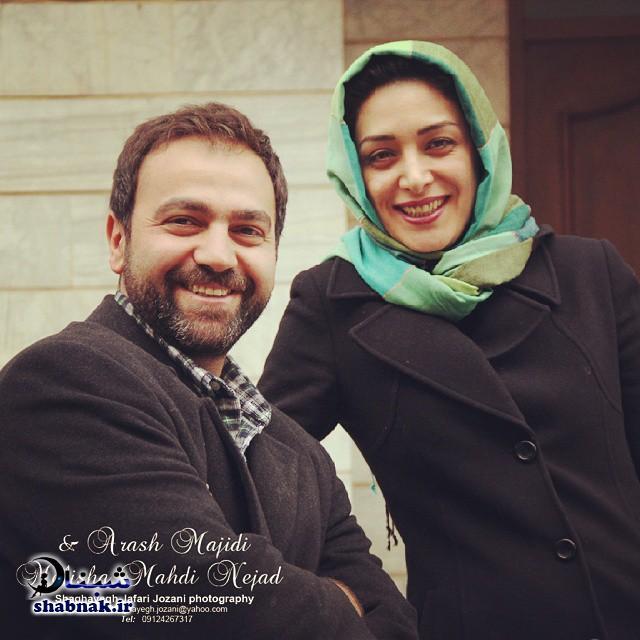 بیوگرافی آرش مجیدی و همسرش