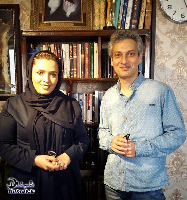 بیوگرافی ارژنگ امیرفضلی و همسرش
