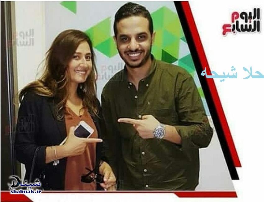 بیوگرافی حلا شیحه و همسرش