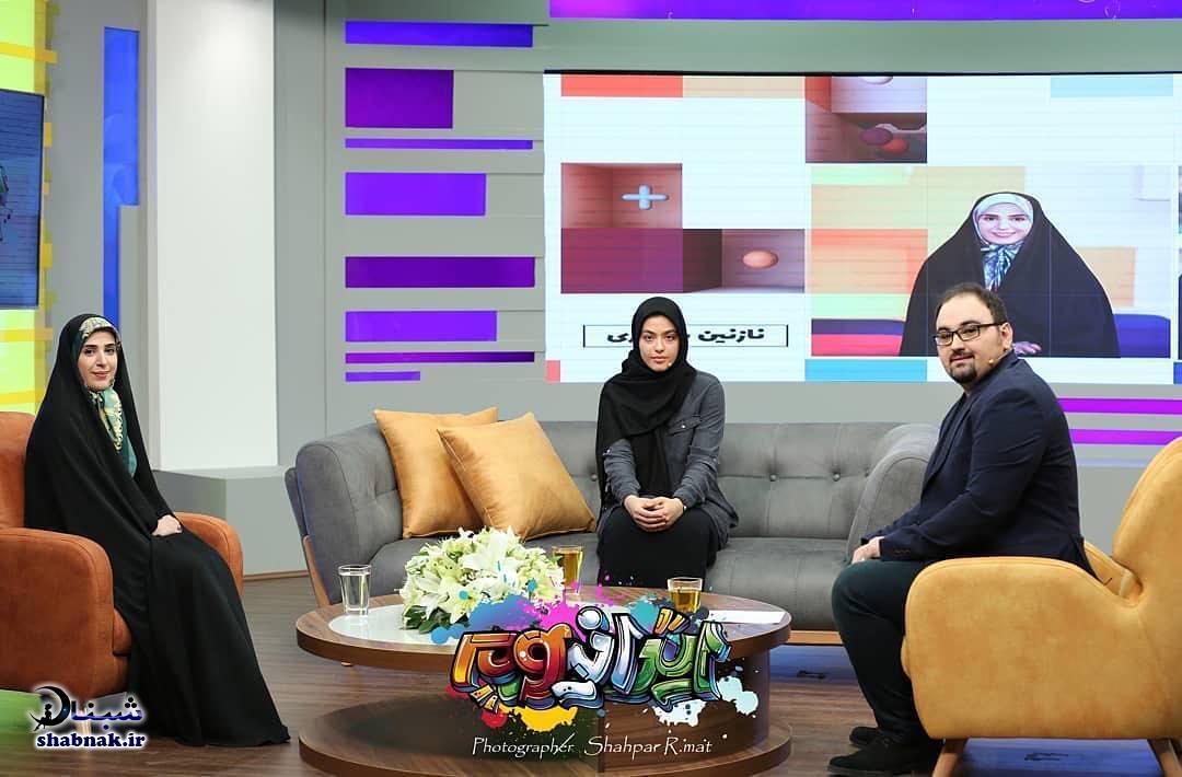عکس های مجید افشاری مجری برنامه ایرانیوم