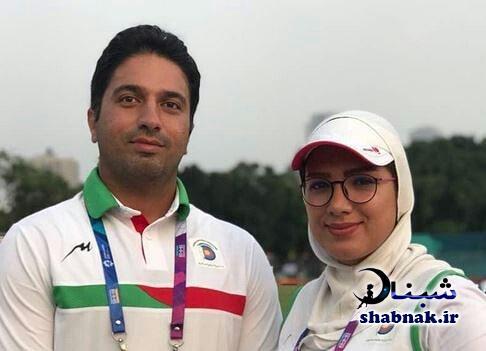 مجید قیدی و همسرش