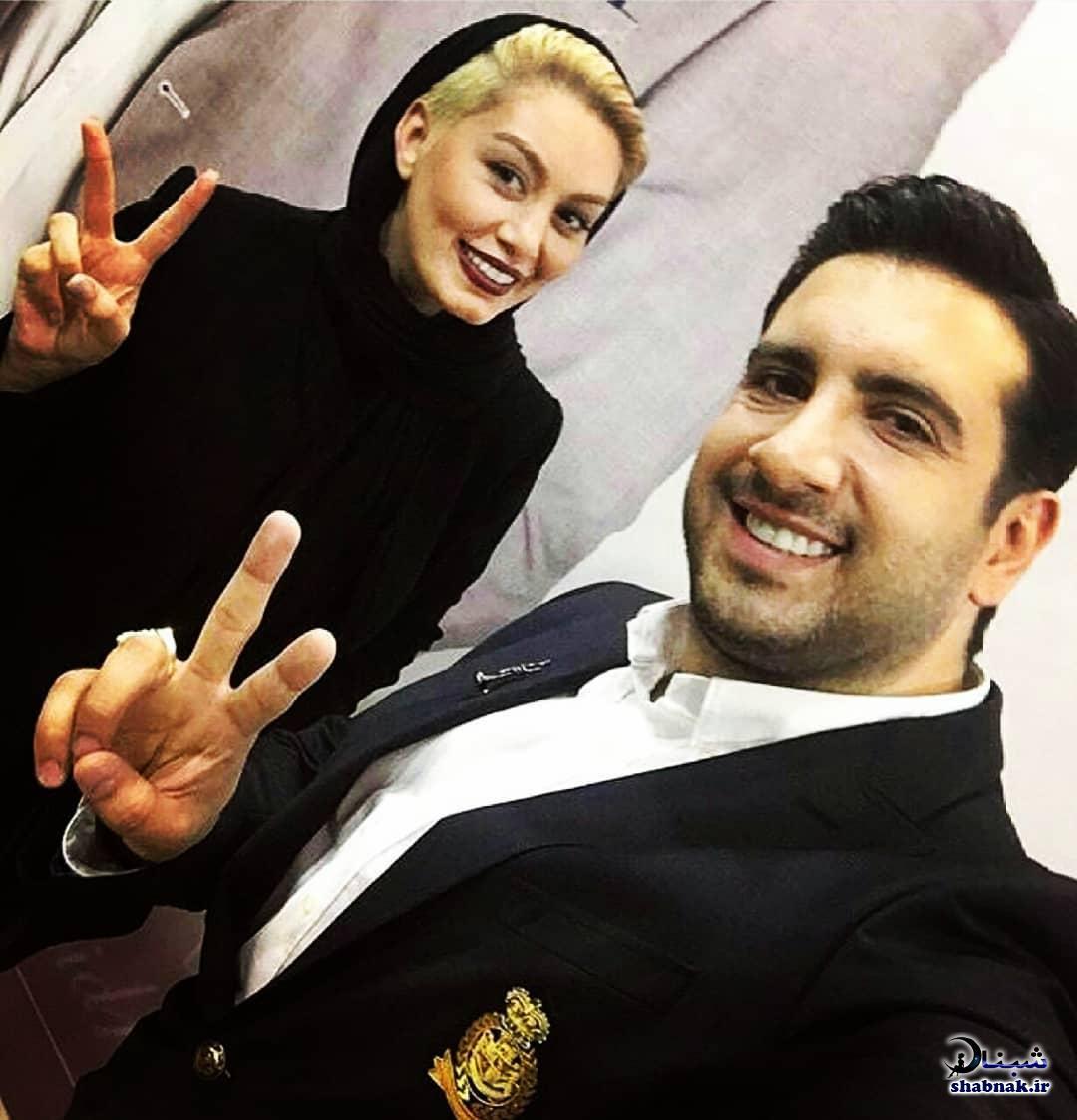 بیوگرافی امید حاجیلی و همسرش