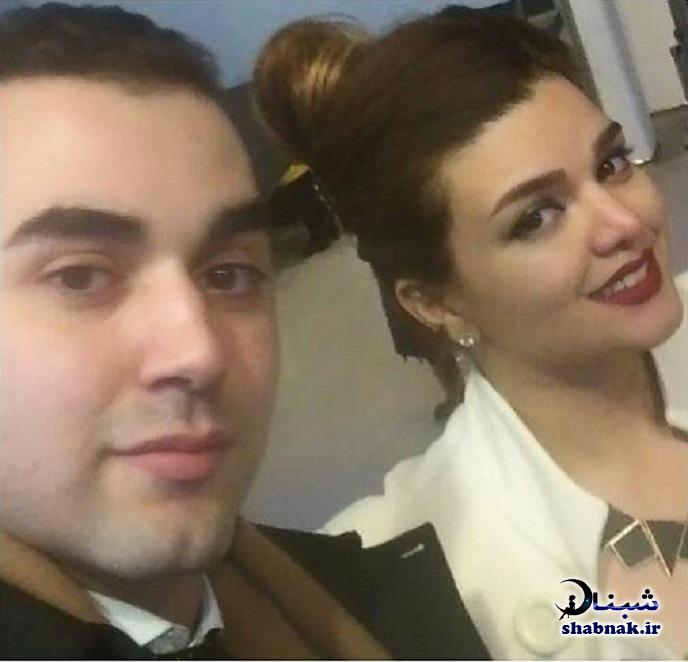 بیوگرافی گلناز حسینی و همسرش