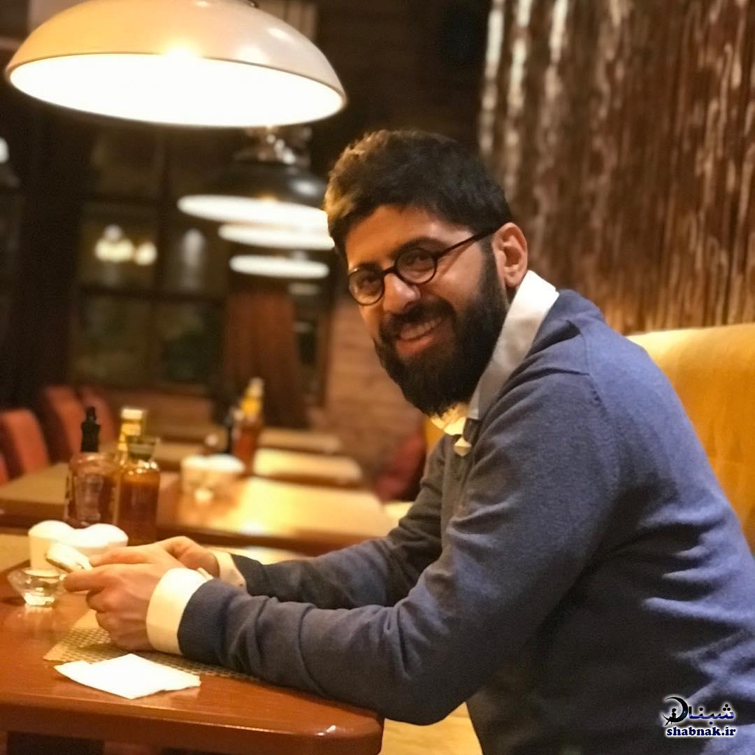 بیوگرافی محمد حمزه ای بازیگر و همسرش