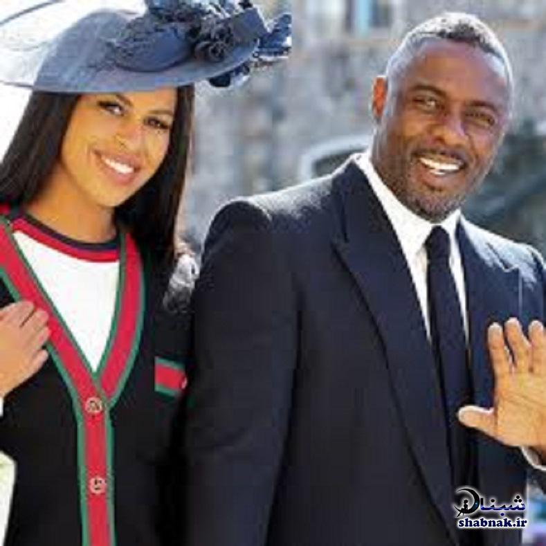 بیوگرافی ادریس البا و همسرش