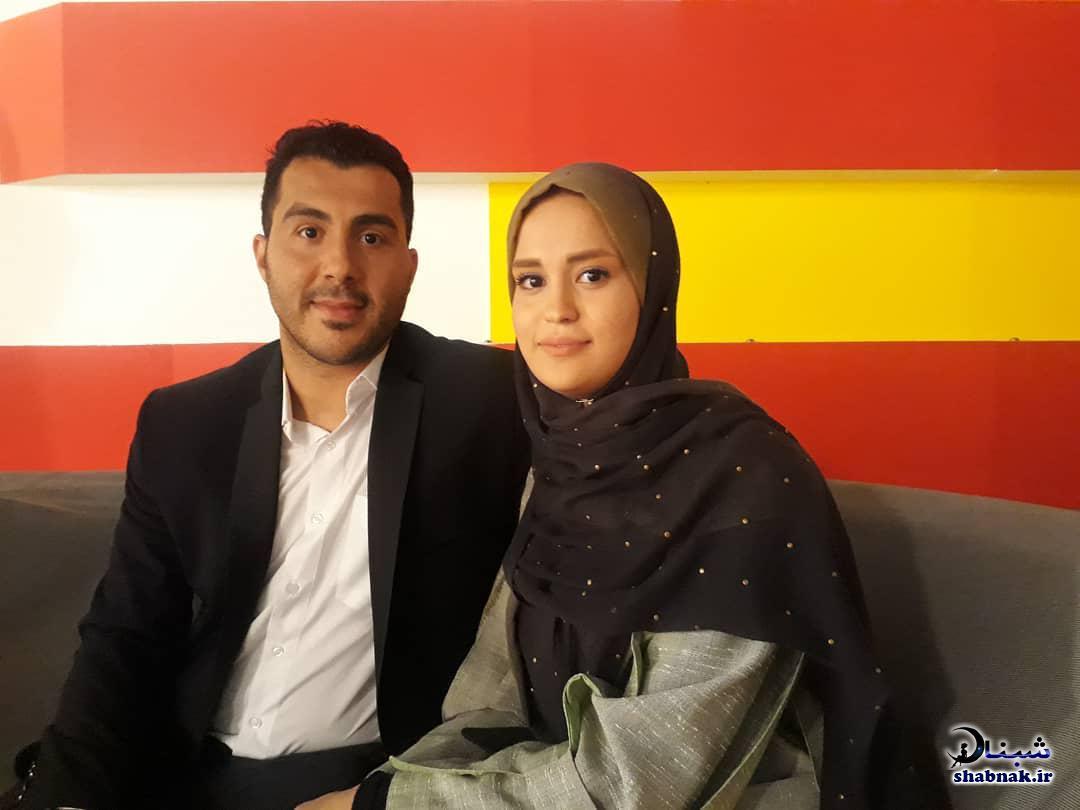 بیوگرافی سجاد گنج زاده و همسرش