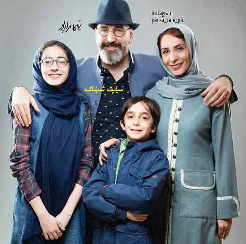 عکس های صالح میرزا آقایی و همسرش هنگامه طالبیان