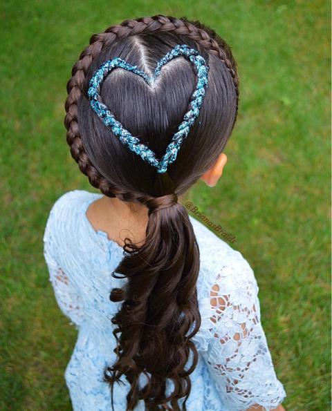 عکس بافت موی دخترانه جدید 2019 - 98 | عکسهای بافت مو دخترانه 2019 - 98