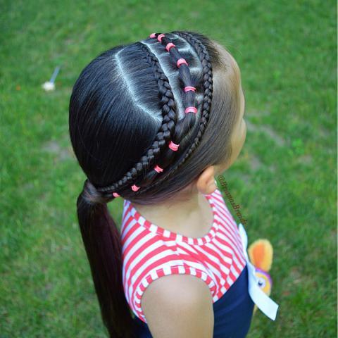 عکس بافت موی دخترانه ساده 2019 - 98 | عکسهای بافت موی دخترانه 2019 - 98