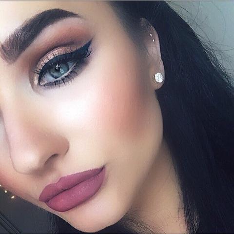 مدل آرایش لایت عروس ایرانی 2019 | مدل ارایش لایت اروپایی 2019