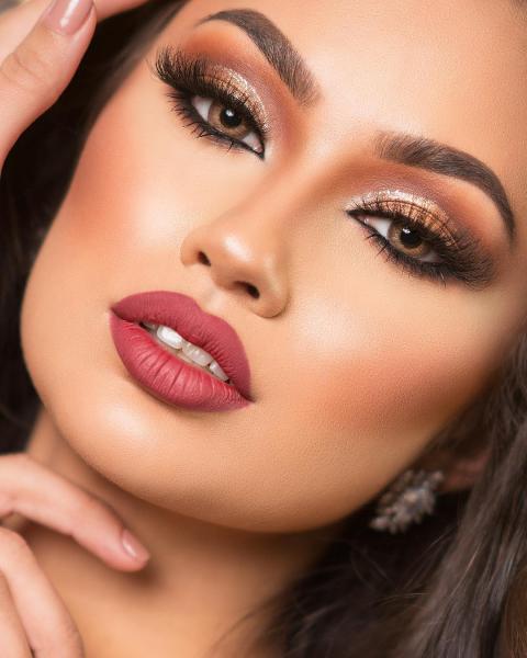 آرایش لایت جدید دخترانه 2019   آرایش جدید لایت ایرانی 2019