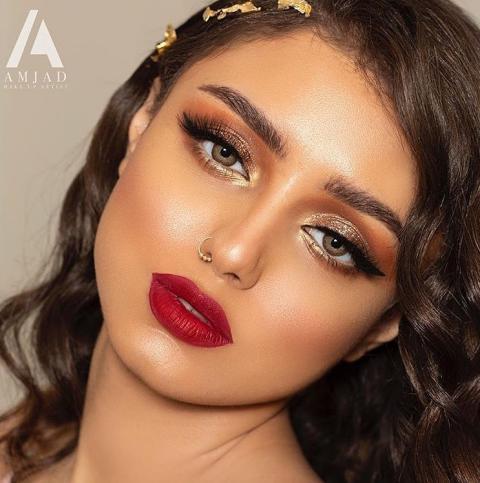 مدل ارایش لایت جدید مدل آرایش عروس جدید 2019   مدل آرایش عروس ایرانی 2019