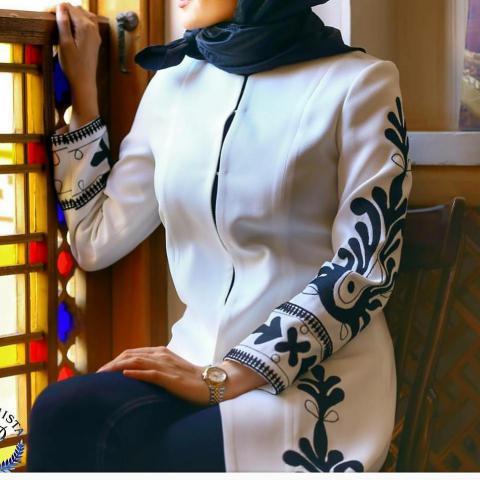عکس مدل مانتو جدید دخترانه | عکس مدل مانتو جدید جلو بازدخترانه 98