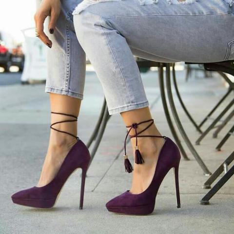 مدل کفش مجلسی پاشنه بلند دخترانه 2019 | مدل کفش مجلسی جدید زنانه 2019