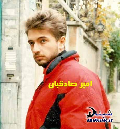 عکس های امیر صادقیان بازیگر