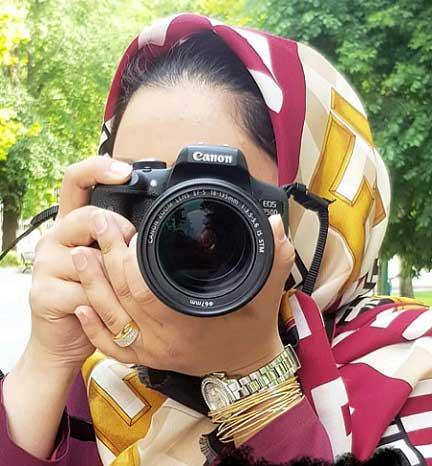 عکس پروفایل دختر عکاس , عکس نوشته دختر عکاس برای پروفایل