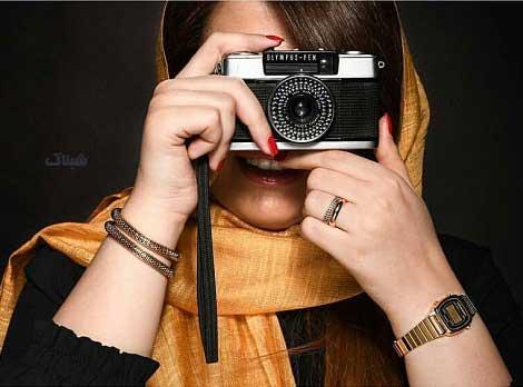 تصاویر دختر عکاس اینستاگرام , عکس نوشته دختر عکاس