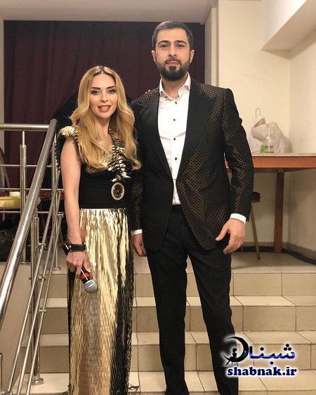 همسر نامیک قاراچوخورلو و همسرش