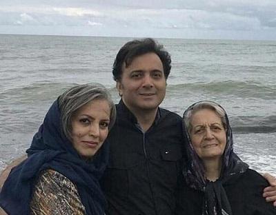 تصاویر خانوادگی مجید اخشابی خواننده در کنار مادر و خواهرش