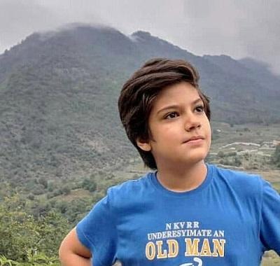 تصاویر جالب راستین عزیر پور بازیگر نقش سهراب در سریال از سرنوشت