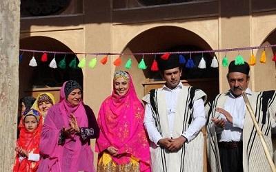 نیلوفر شهیدی و مرتضی رحیمی در سریال تاراز + تصاویر