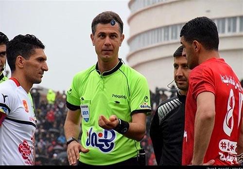 بیوگرافی محمد حسین زاهدی فر داور فوتبال + حواشی