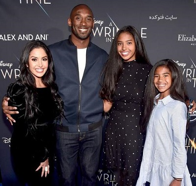 تصاویر خانوادگی کوبی برایانت بسکتبالیست آمریکایی