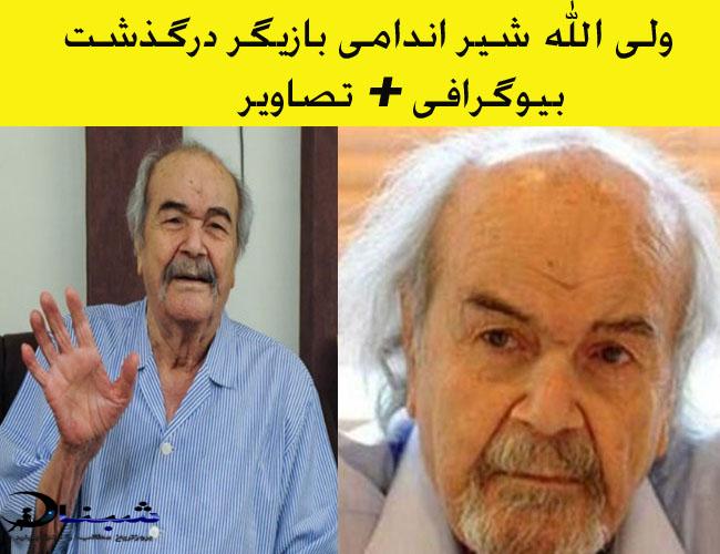ولی الله شیر اندامی بازیگر سینما + ماجرای درگذشت