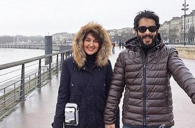 تصاویر ساعد سهیلی بازیگر و همسرش