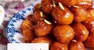 طرز تهیه زولبیا بامیه خانگی ماه رمضان